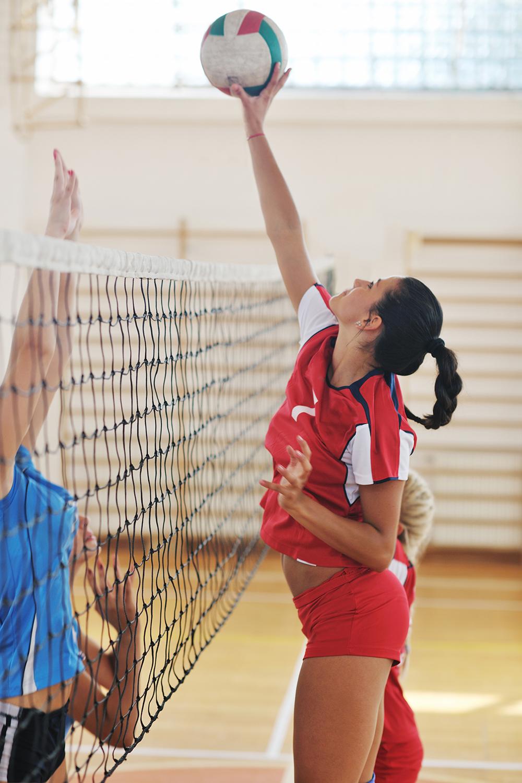 Volleyball athlete